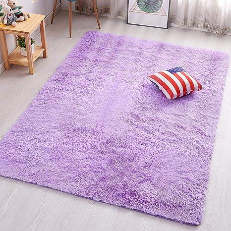 PAGISOFE Purple Area Rugs