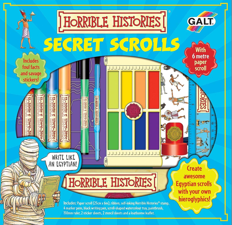 Galt Toys Horrible Histories Secret Scrolls