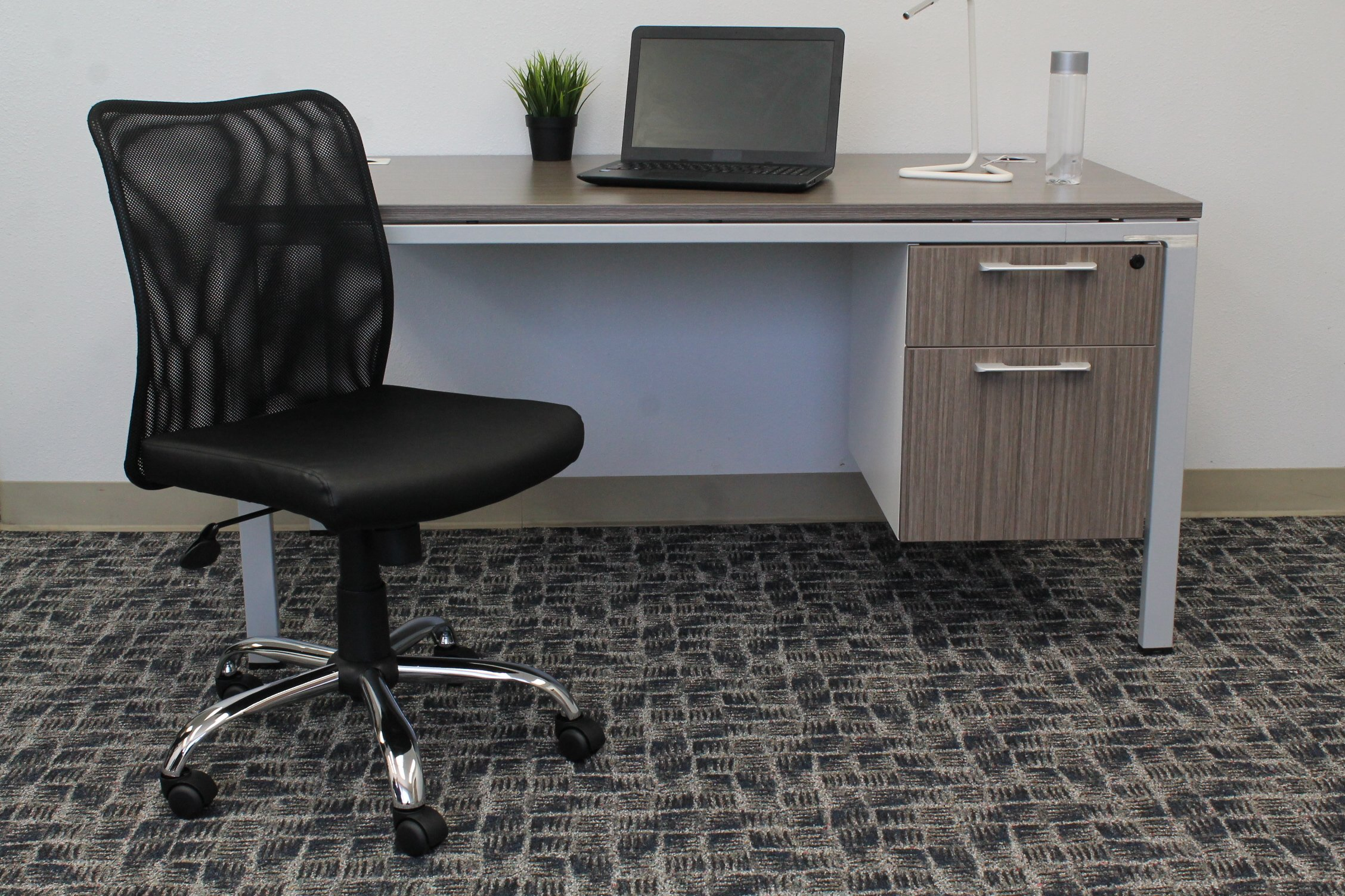 BOSS Office Products B6115C-CS Budget Task Chair, Black by BOSS