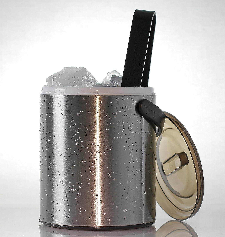 Compra My-Gastro Acero Inoxidable Hielo Cubo 2, 2 litros ...
