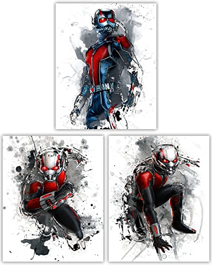 Amazon.com: Ant Man Movie Poster Collection - Paul Rudd as The ...