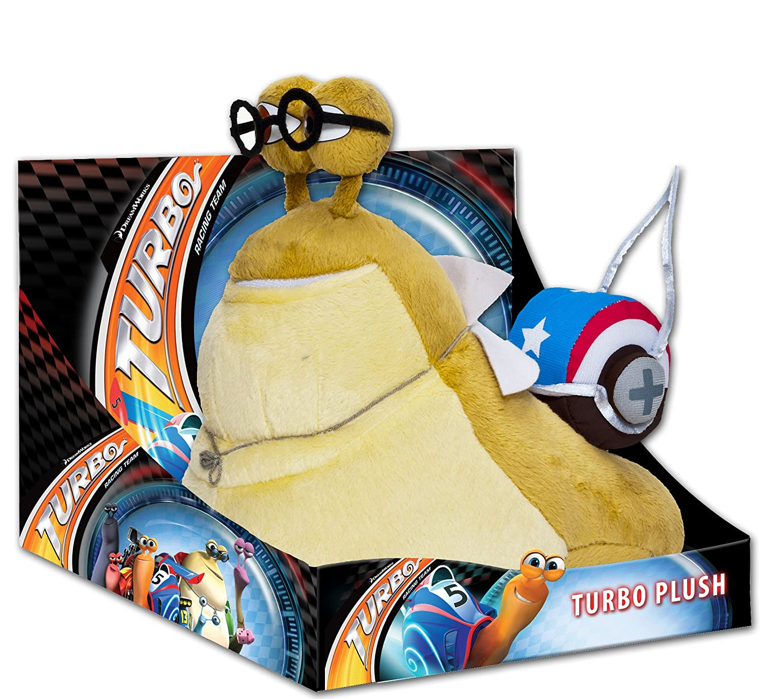 Joy Toy 339984 Turbo - Caracol de peluche en caja expositora (25 cm), color beige: Amazon.es: Juguetes y juegos