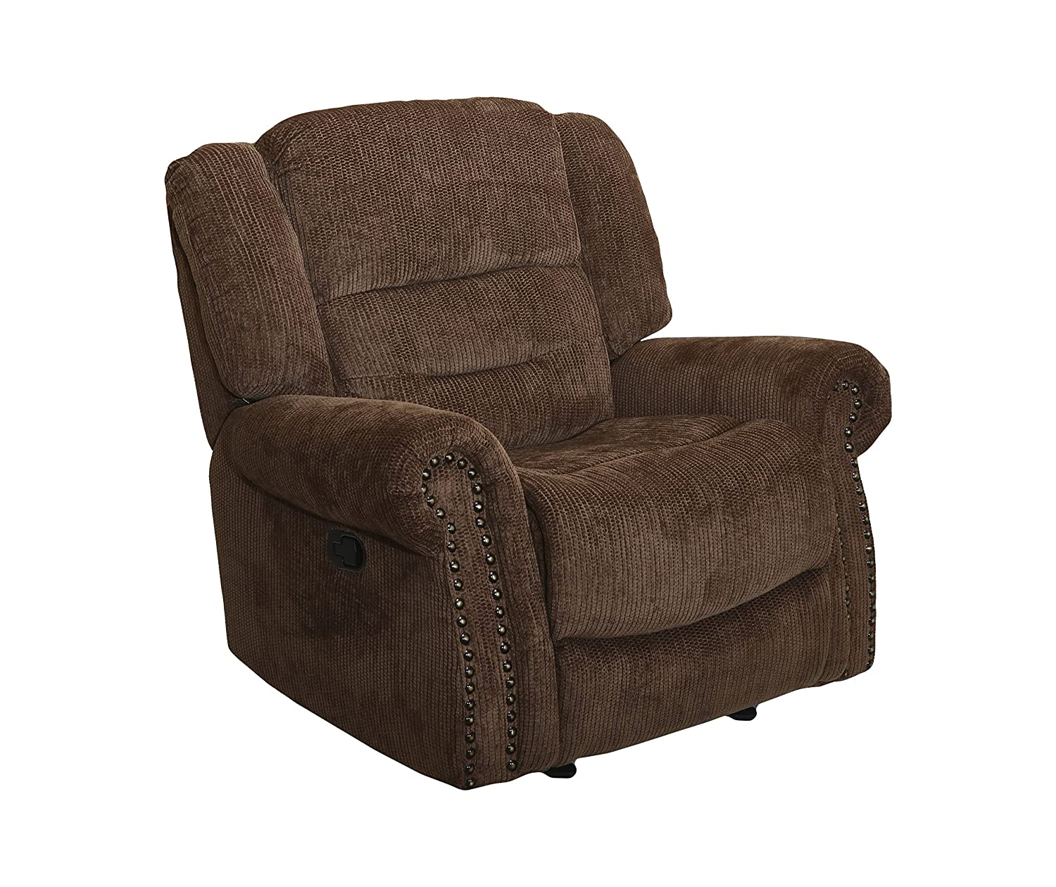 New Classic Furniture Jasper Upholstery Glider Recliner, Manual, Panda
