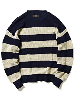 5 Gauge Cotton Rib Crewneck Sweater 11-15-1162-156