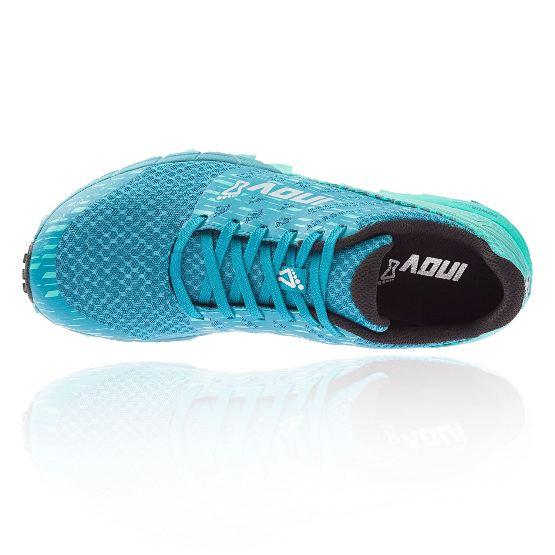 Inov-8 Women's Trailtalon 235 (W) Trail Running Shoe B07FGDW3QV 9.5 W US|Blue Grey / Black