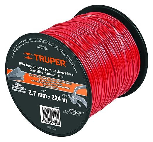 Truper HTR3-105 - Cuerda de tríptico (2,7 mm): Amazon.es: Jardín