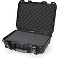 Nanuk 923 Waterproof Hard Case with Foam Insert and Incorporated TSA Approved Travel Lock Latches - Black - Made in…