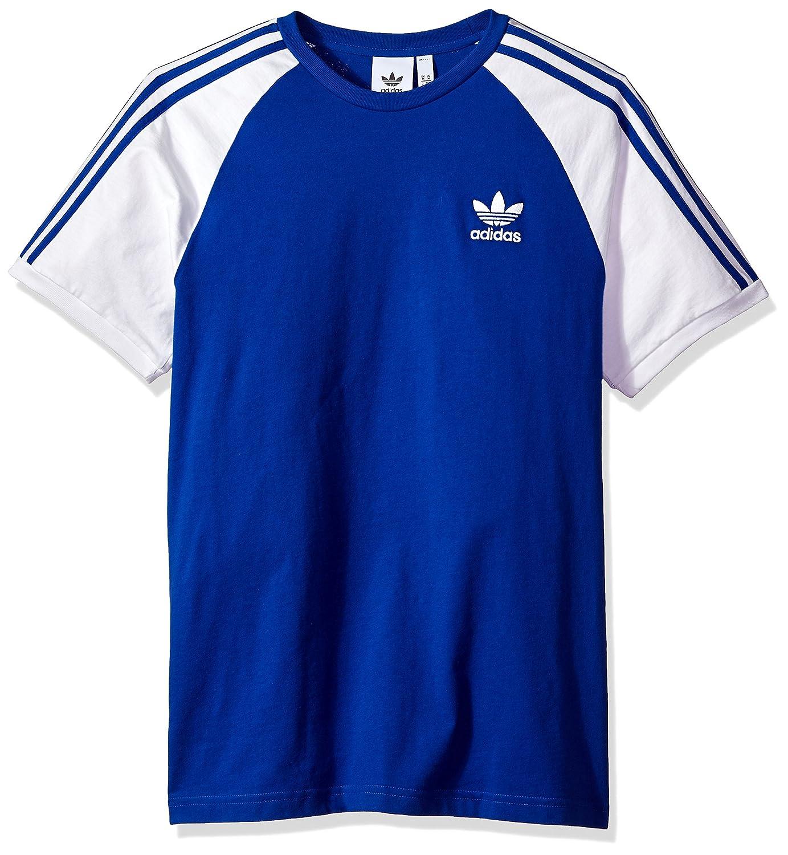 98f1790a650 adidas Originals Men s Originals 3 Stripes Tee at Amazon Men s Clothing  store