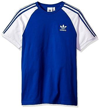 73458bcba8 adidas Originals Men's Originals 3 Stripes Tee, Collegiate Royal, ...