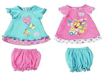 Amazon Com Zapf Creation Baby Born Baby Dress Butterfly Assorted Baby