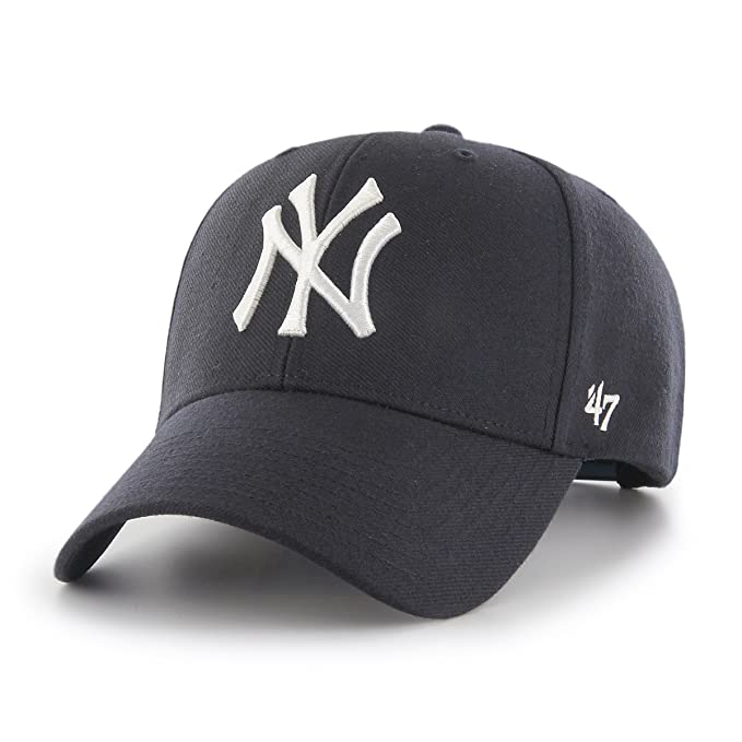 47 Gorra MVP Snapback Yankees by Brand Gorragorra de Beisbol (Talla única  - Azul 44f4ccf773d