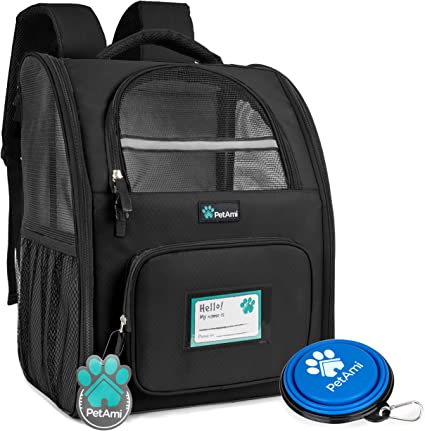 PetAmi Deluxe Pet Carrier Backpack - One of the Best Backpacks for Hiking