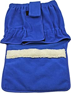 Advocate Foot Warmer with King Size Heating Pad, Blue, 1.96 Pound