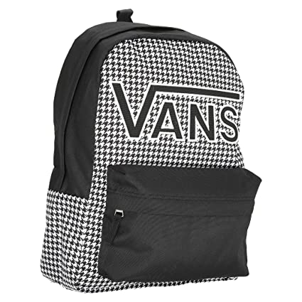 Vans REALM FLYING V BACKPACK BLANCA Y NEGRA: Amazon.es: Deportes y aire libre