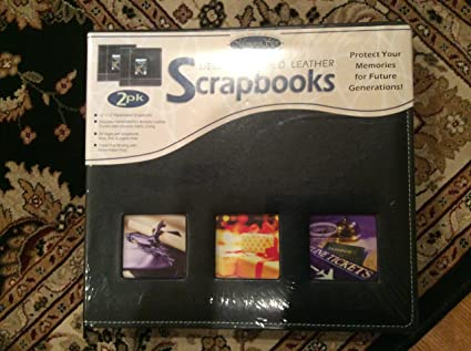 Amazon Deluxe Bonded Leather Scrapbooks Memory Stor Arts