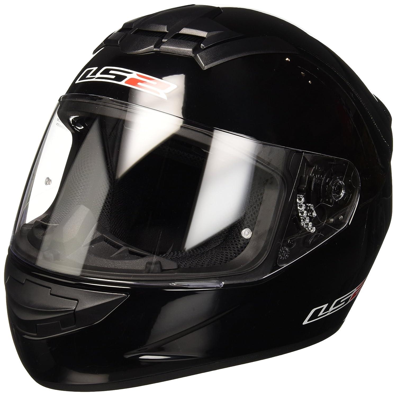 Matt black m LS2/Casco Moto mx436/Pioneer