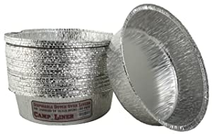 Campliner Dutch Oven Liners, 30 Pack of 14-Inch 8 Quart Disposable Liners - No More Cleaning or Seasoning. Fits Lodge, Camp Chef, and other Cast Iron Dutch Ovens