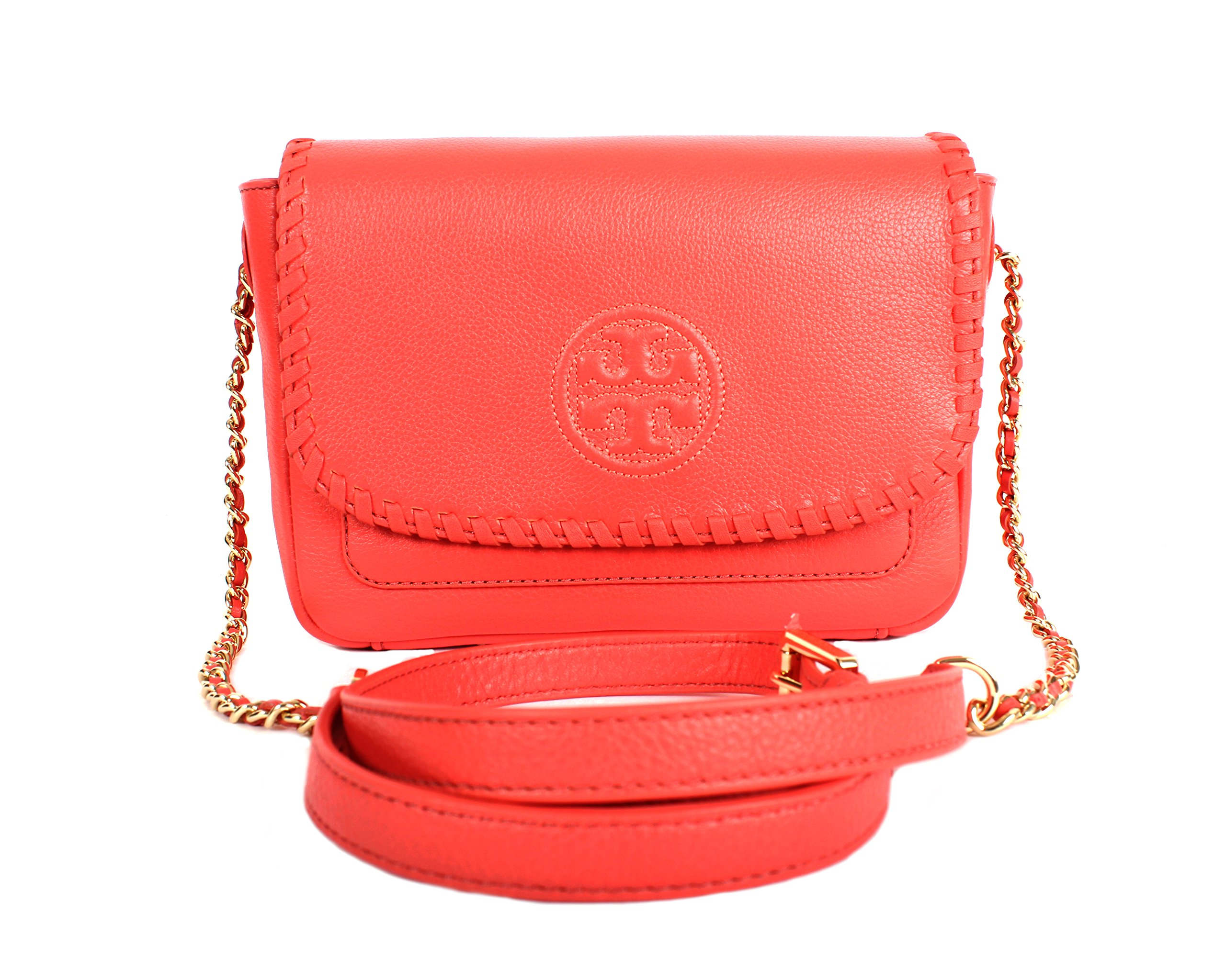 Tory Burch Marion Mini Bag, Spiced Coral, Style No. 40804 by Tory Burch