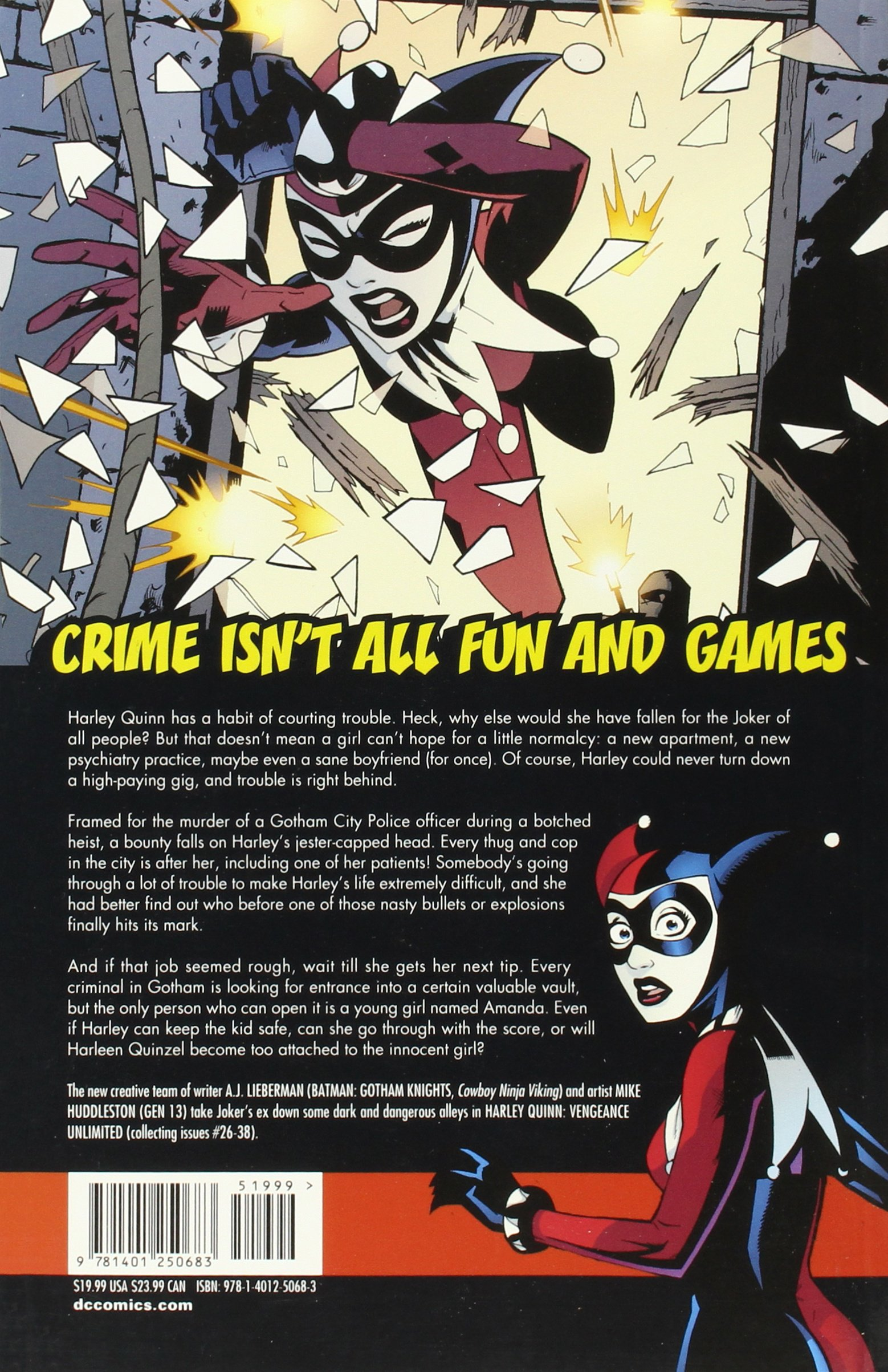 Harley Quinn: Vengeance Unlimited TP: Amazon.es: A.J. ...