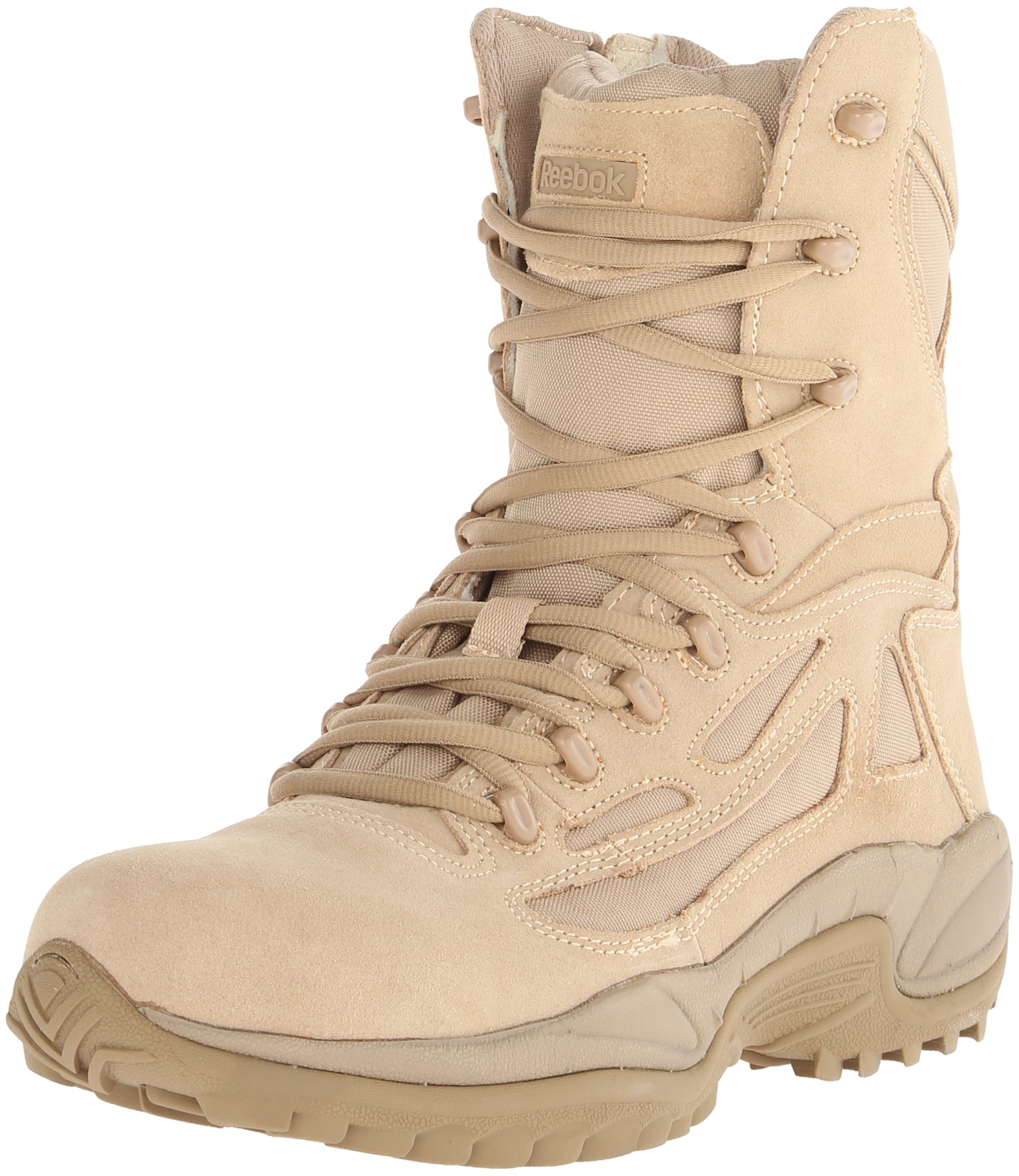 Reebok Work Men's Rapid Response RB8895 Security Friendly,100% Non metallic Boot,Desert Tan,12 W US by Reebok Work