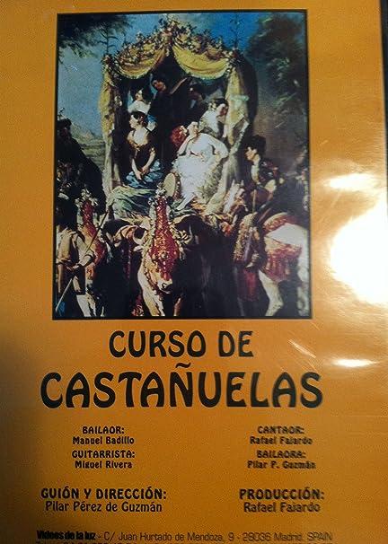 Amazon.com: Castanet course / Curso de Castañuelas DVD ...