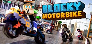 Blocky Motorbikes - Crazy GP Motorbike Racing Game by Lab Cave Apps S.L