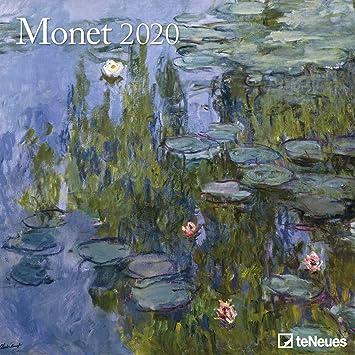 Calendario 2020 CLAUDE MONET - Artiste - Formato 30 x 30 cm ...