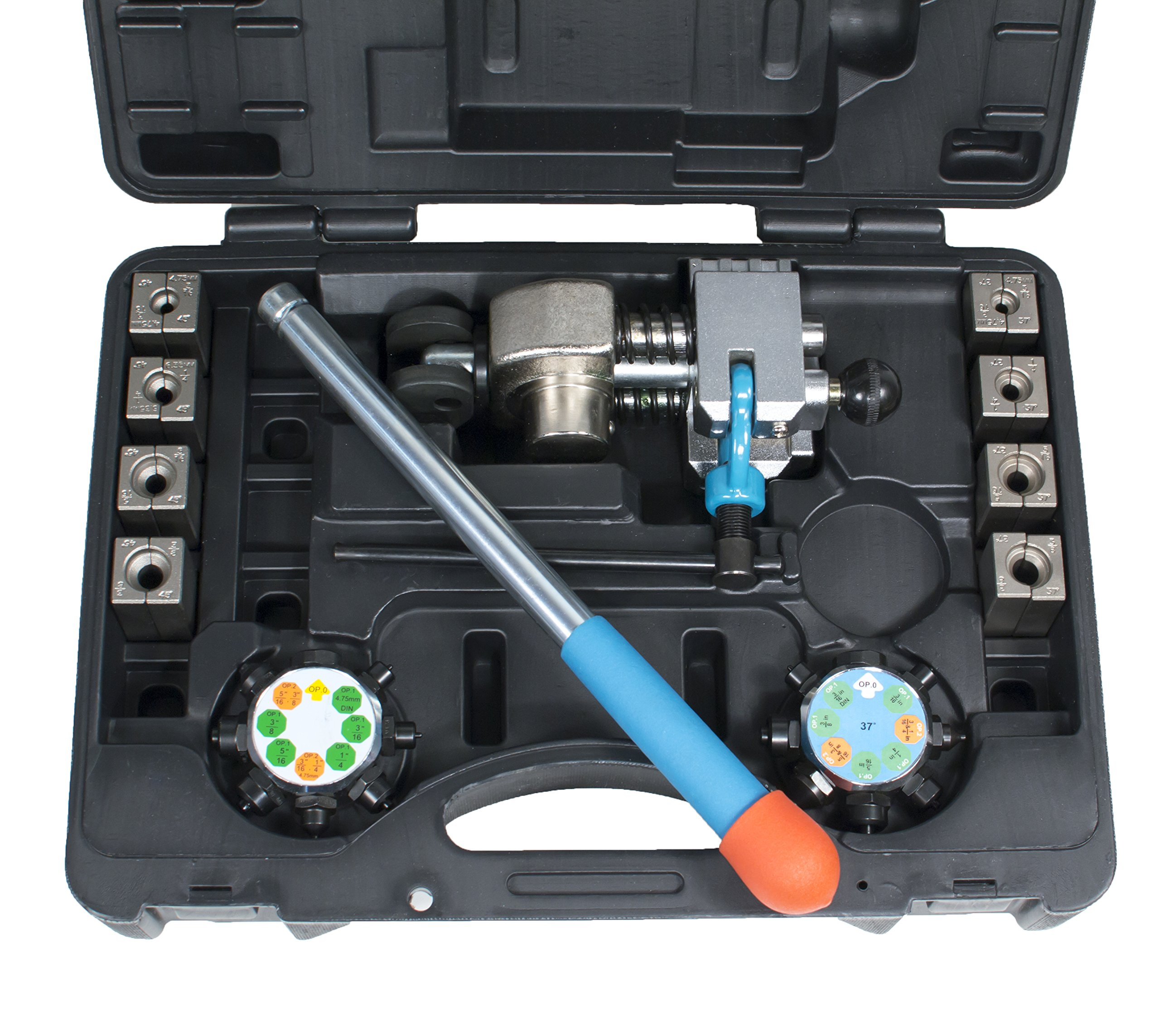 TGR Professional Brake Line Flaring Tool- 45 and 37 degree Set by Tool Guy Republic (Image #3)