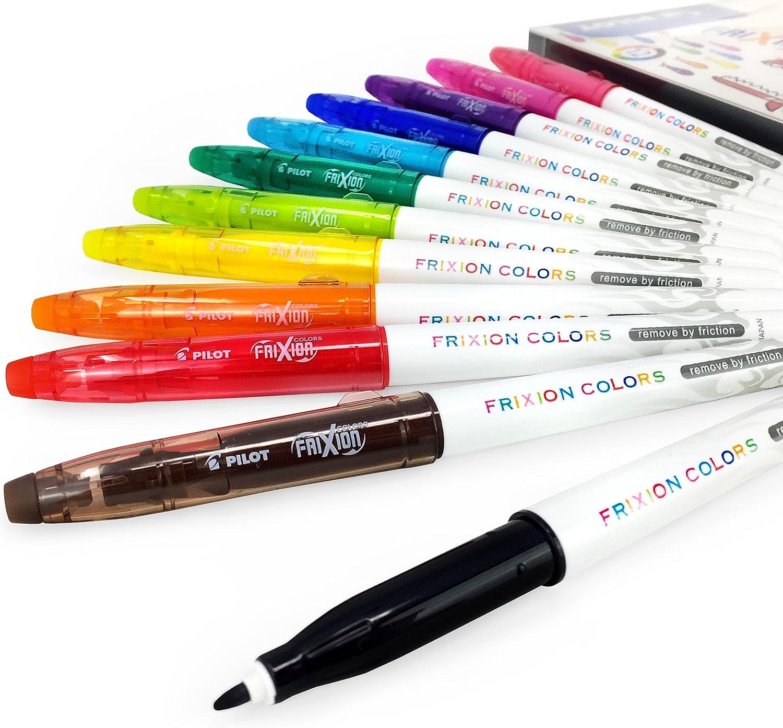Cartera De 12 Varios Colores Pilot Frixion Colores Borrable Rotuladores