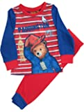 Kids Boys Paddington Bear Pyjamas Pjs Ages 18 Months to 5 Years