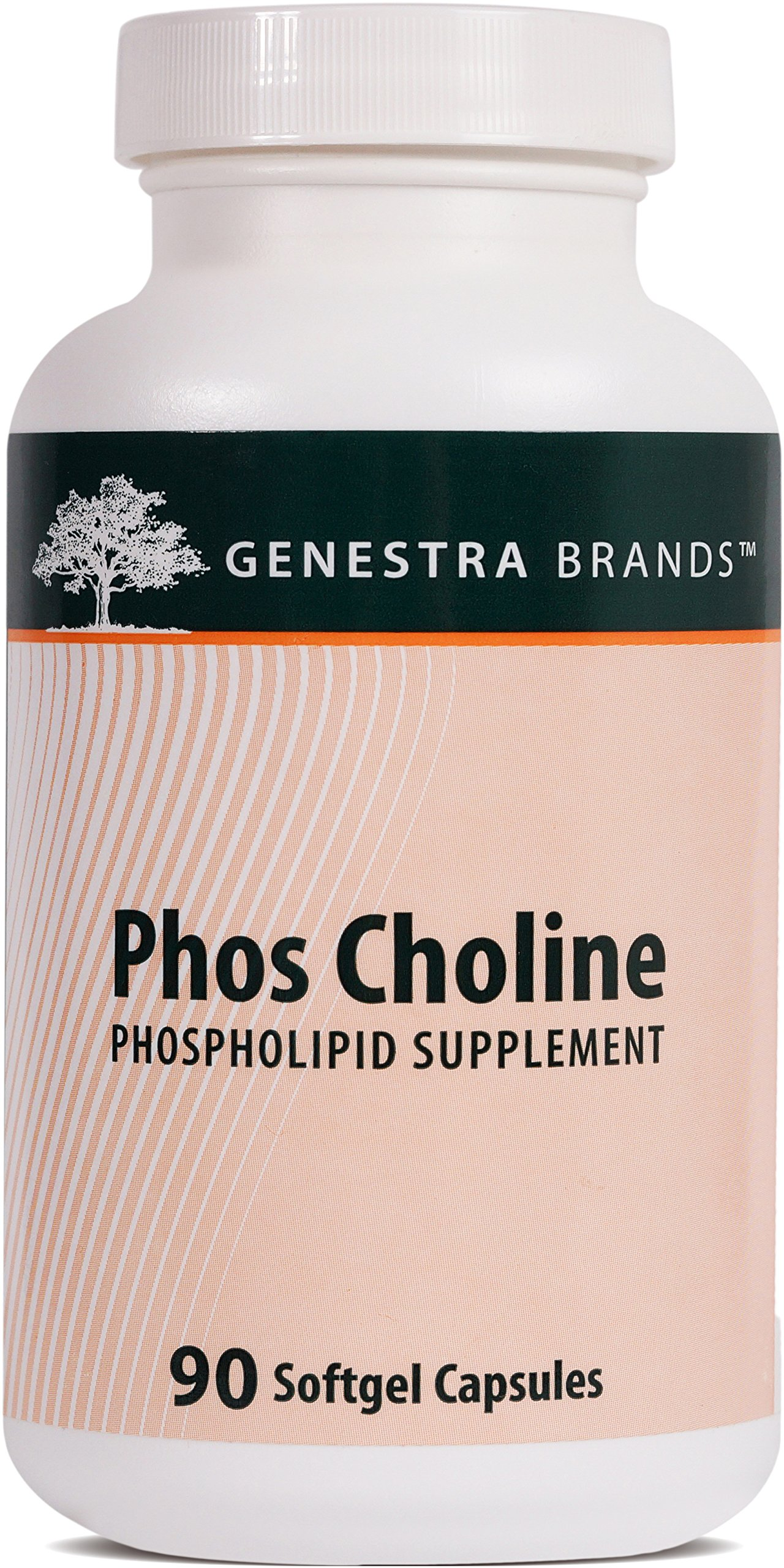 Genestra Brands - Phos Choline - Support Healthy Liver Function* - 90 Softgel Capsules