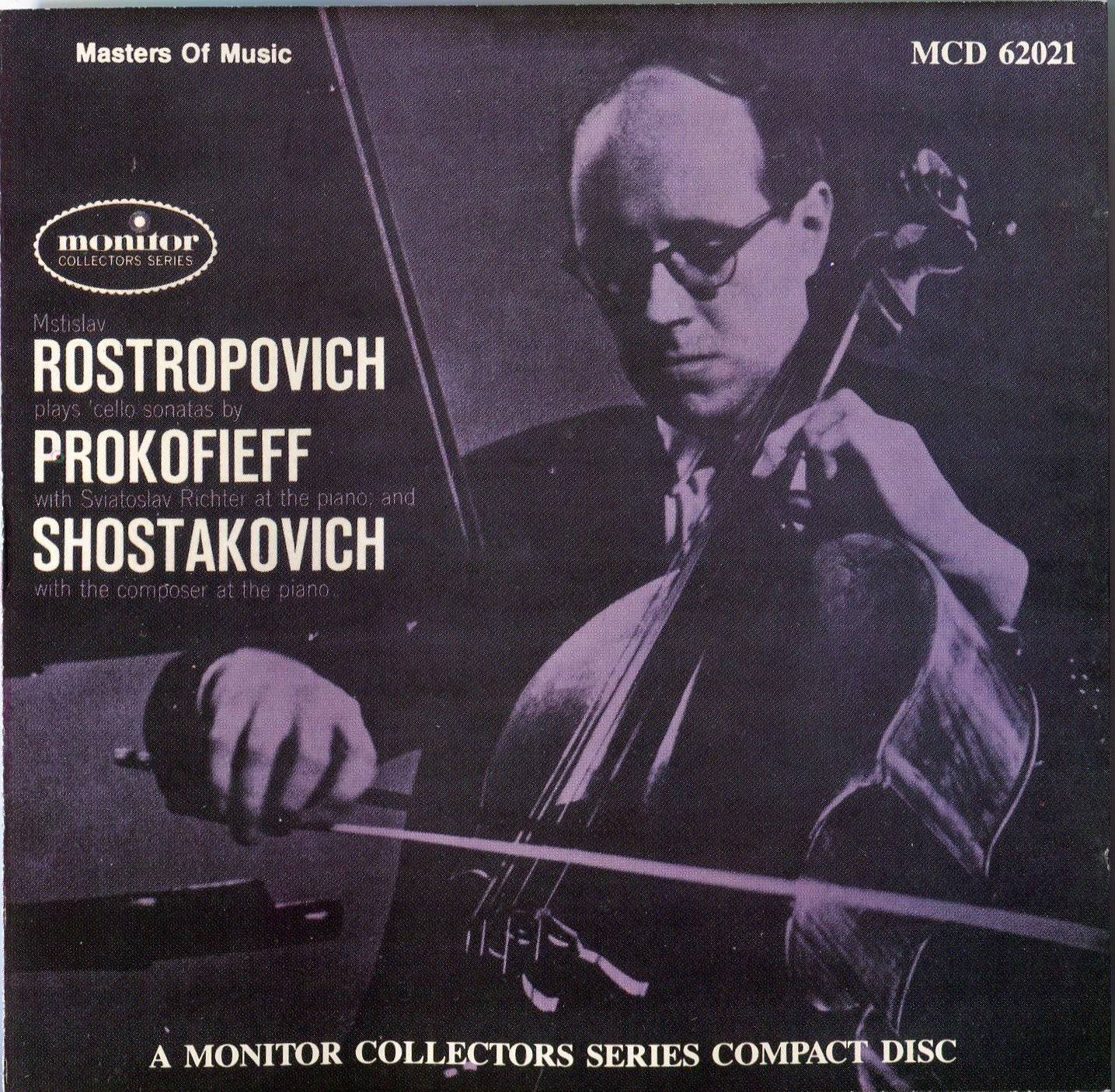 Rostropovich plays Prokofiev & Shostakovich Cello Sonatas