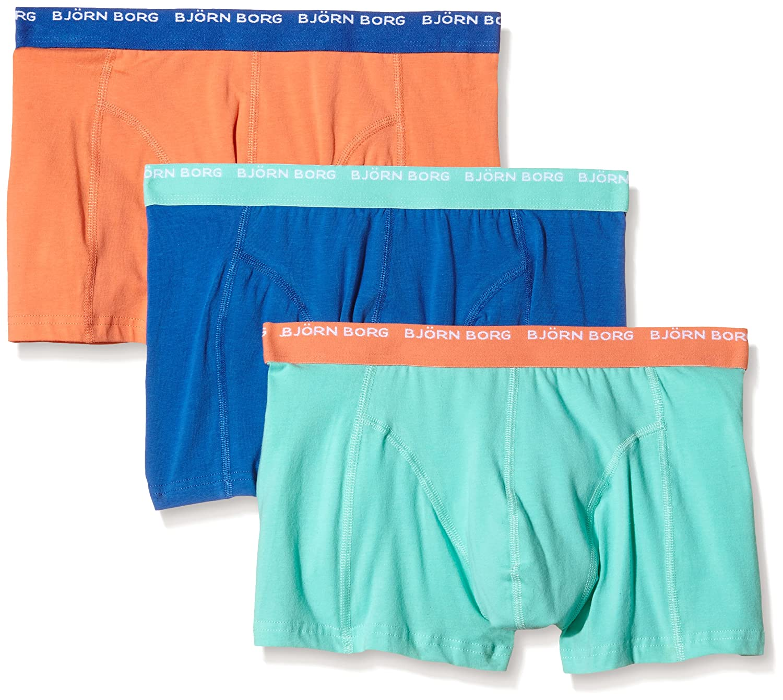 Bjorn Borg Men's Basic Seasonal Solids Contrast Boxer Shorts