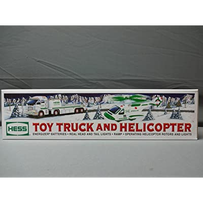 Hess Truck and Helicopter - 2006: Toys & Games