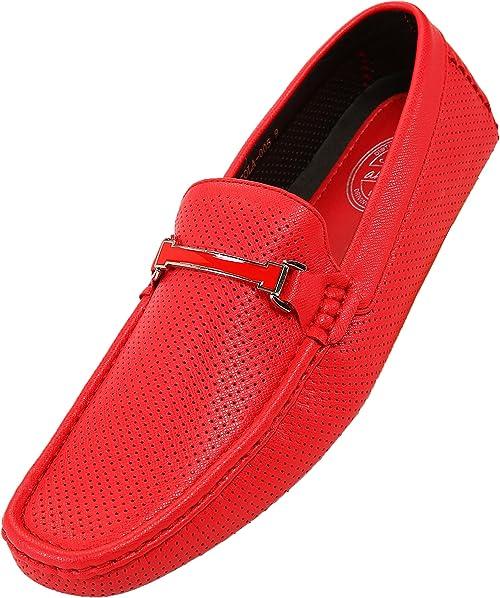 Foster Footwear Mocasines de Sint/ético para Hombre
