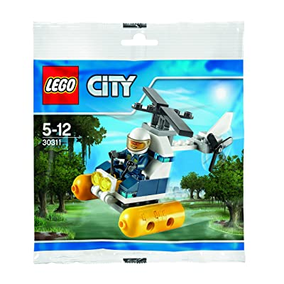 LEGO City: Swamp Police Helicopter Set 30311 (Bagged): Toys & Games