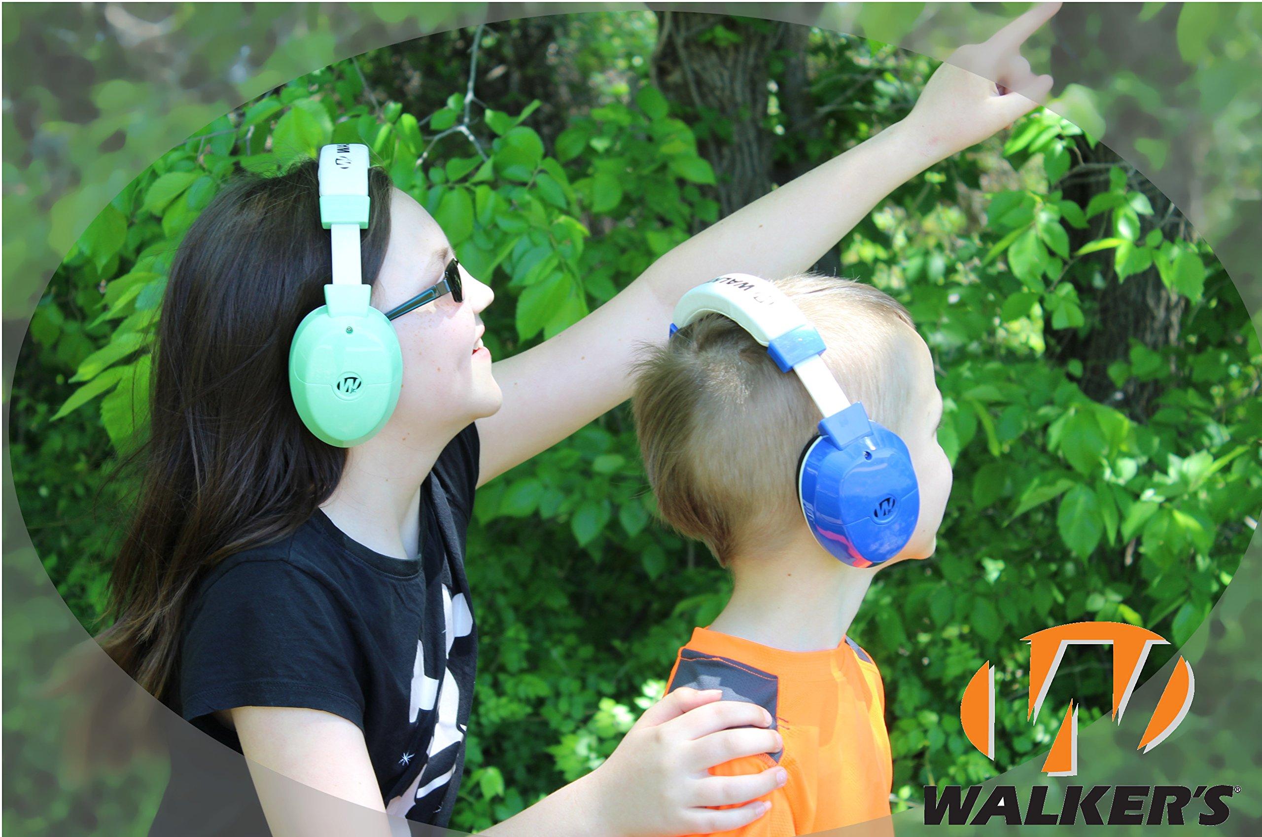 Walker's Game Ear Youth Electronic Muff, Mint by Walker's Game Ear (Image #3)