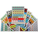 Calendar Planner Stickers – 77 Unique Designs, 432 Pack - Woman and Mom Daily 2017 Edition – Scrapbook Art, Personal Appointments, Reminders for Birthdays, School, Family, Work, Sports, Holidays