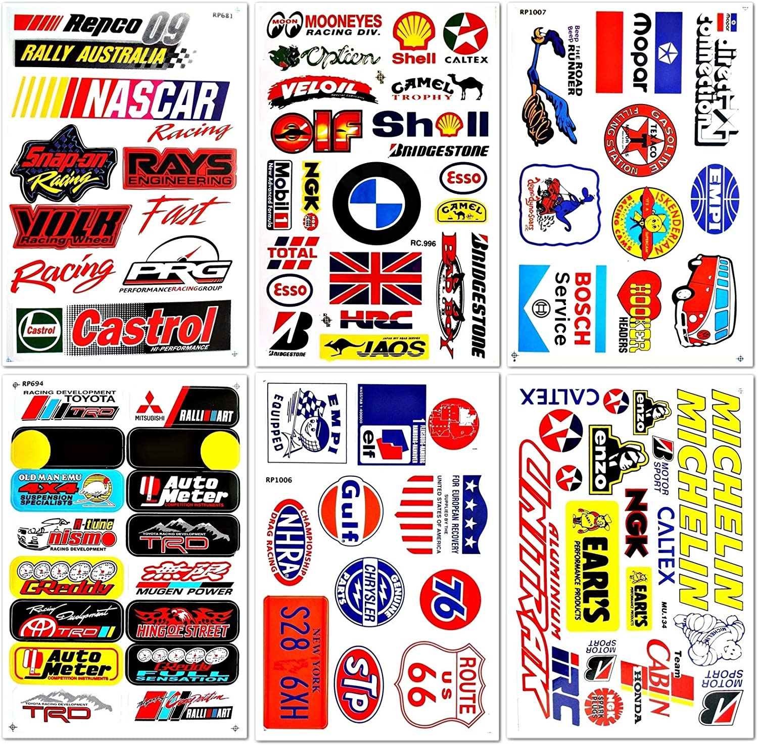 BMW Motorsport Tuning Decals Sticker Car Bike Graphics Set Vinyl Adhesive 26 Pcs