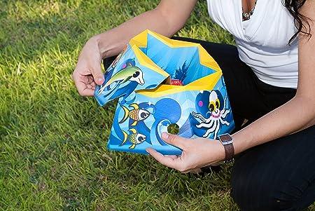 ComfyDo Ocean Blue - Orinal de viaje plegable y descartable, color azul: Amazon.es: Bebé
