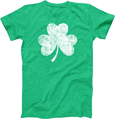 Vintage Ireland Irish Flag Green St Patricks Day Adult Womens Long-Sleeved T Shirt