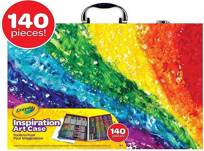 Crayola Inspiration Art Case -140 pieces-Assortment,Invision,04-2532
