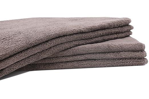 9 opinioni per ZOLLNER® set di 6 pezzi d'asciugamani 50x100 cm taupe, disponibili in tanti