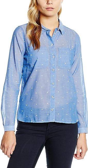 Springfield 4.T.R.Camisa Estrellas Blusa, Blues, 34 para Mujer: Amazon.es: Ropa y accesorios