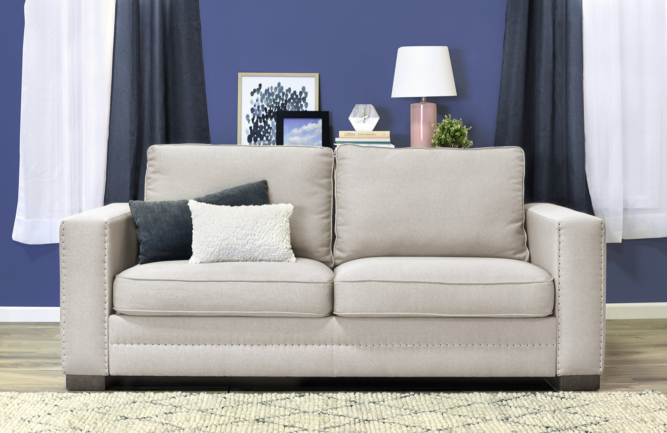 Serta Hemsley 81'' Sofa in Everyday Beige by Serta