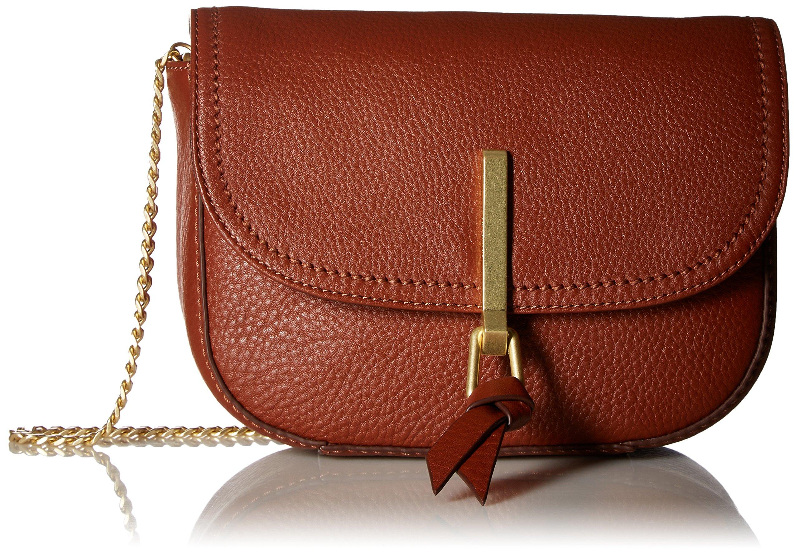 Vera Bradley Carson Mini Saddle Bag, Mesa Brown