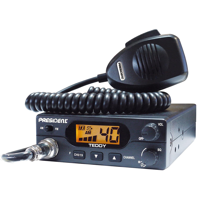 RADIO CB PRESIDENT TEDDY 40 CANAUX AM-FM + MICRO