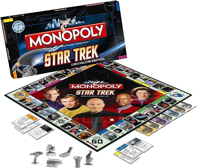 Monopoly Star Trek Continuum by USAopoly: Amazon.es: Juguetes y juegos