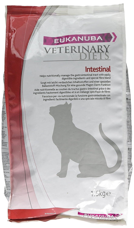 Eukanuba Veterinary Diets Croquettes Intestinal au Poulet pour Chat 1, 5 kg 8710255130125
