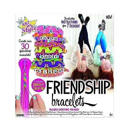 Amazon Com Just My Style Friendship Bracelet Making Kit Toys Games